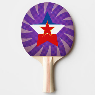 Best Yugoslavia Flag Design Ping Pong Paddle
