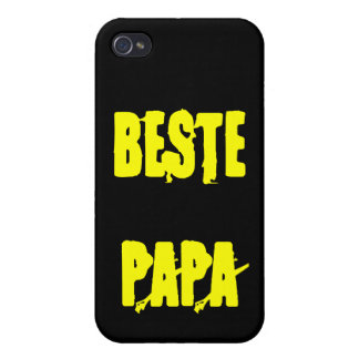 Beste Papa iPhone 4 Cover