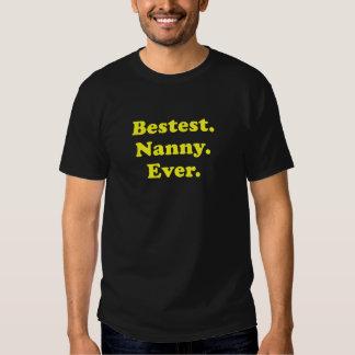 Bestest Nanny Ever Tshirt