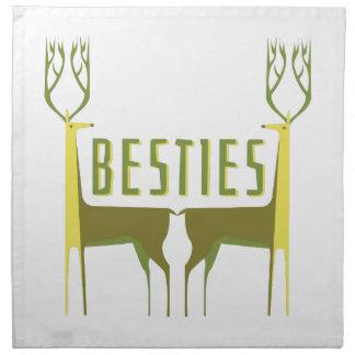 Besties Printed Napkin