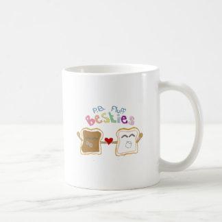 besties peanut butter fluff coffee mugs