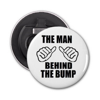 bestselling Man behind the bump bottle opener