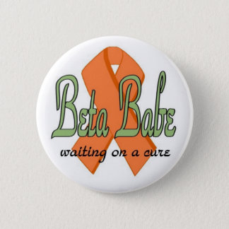 Beta Babe Button