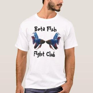 beta, Beta Fish Fight Club T-Shirt