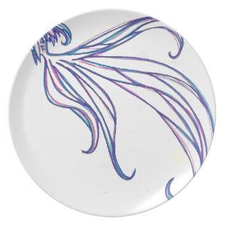 Beta Fish Plate