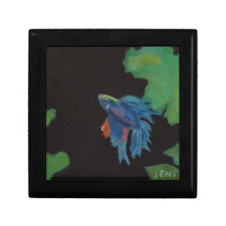 beta fish trinket boxes