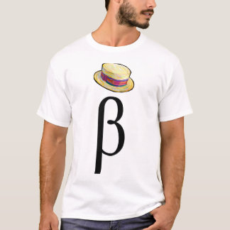 Beta Hat on the Front T-Shirt