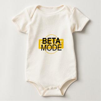 Beta mode baby bodysuit