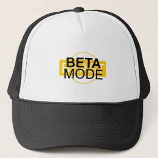 Beta mode trucker hat