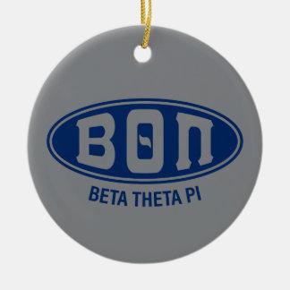 Beta Theta Pi | Vintage Ceramic Ornament