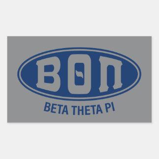 Beta Theta Pi | Vintage Sticker