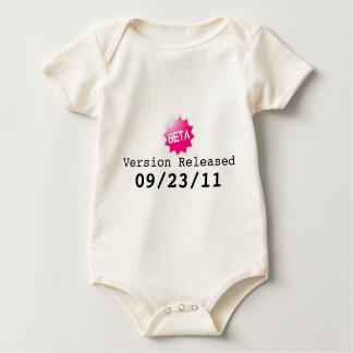 Beta Version Baby Baby Bodysuit