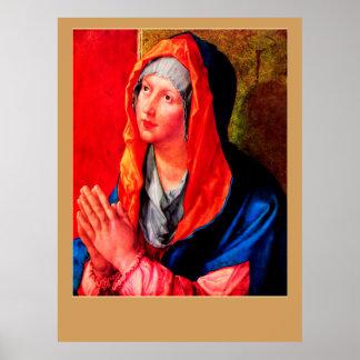 Betende Maria Poster