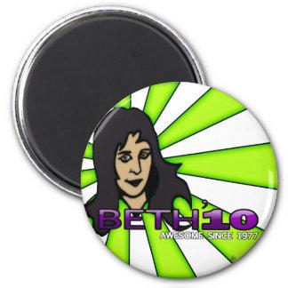 Beth'10, round magnet