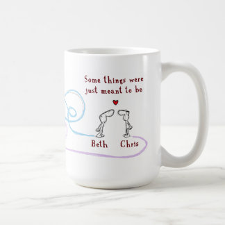 """Beth heart Chris"" Coffee Mug"