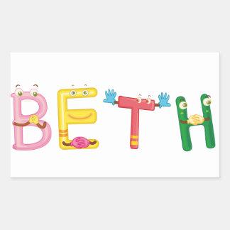 Beth Sticker