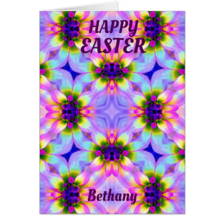 BETHANY ~ Personalised Easter card pattern ~