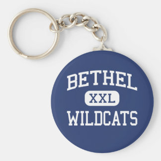 Bethel - Wildcats - High School - Shawnee Oklahoma Keychain