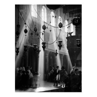 Bethlehem Christmas, 1940s Postcard