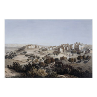 Bethlehem, engraved by Terry Poster