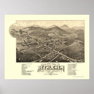 Bethlehem, NH Panoramic Map - 1883 Poster