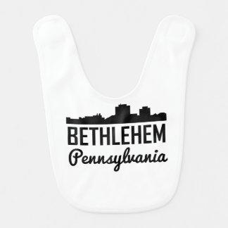 Bethlehem Pennsylvania Skyline Bib