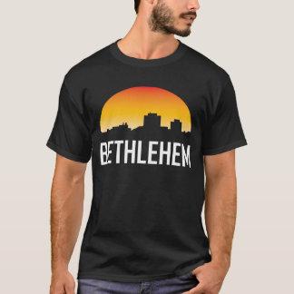 Bethlehem Pennsylvania Sunset Skyline T-Shirt