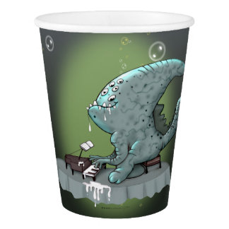 BETHOLIEN MONSTER ALIEN CARTOON PAPER CUP
