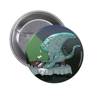 BETHOLIEN MONSTER ROBOT SMALL BUTTON 2¼ Inch