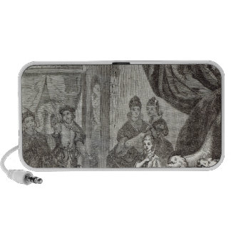 Betrothal of the French Princess to Richard II iPhone Speakers