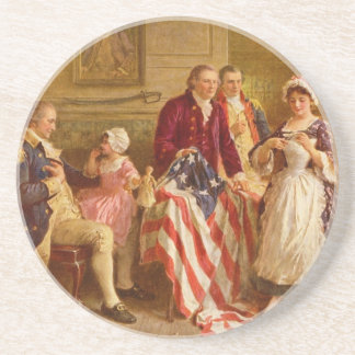Betsy Ross 1777 by Jean Leon Gerome Ferris Coaster