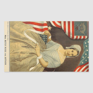 Betsy Ross First American Flag and Seal Vintage US
