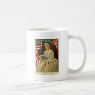 Betsy Ross First American Flag Vintage Portrait US Coffee Mug