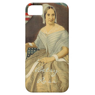 Betsy Ross First American Flag Vintage Portrait US iPhone 5 Case