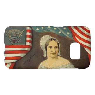 Betsy Ross First American Flag Vintage Portrait US Samsung Galaxy S7 Case
