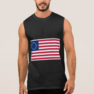 BETSY ROSS FLAG-2 SLEEVELESS SHIRT