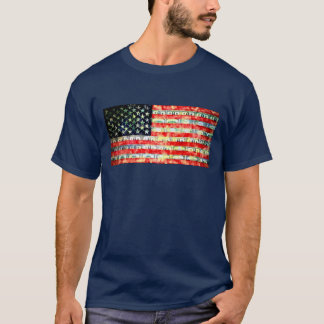 Betsy Ross Revisited or the Changing of the Colors T-Shirt