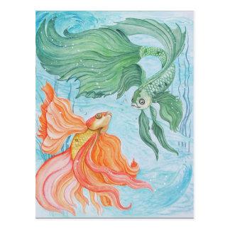 Betta Dance Postcard