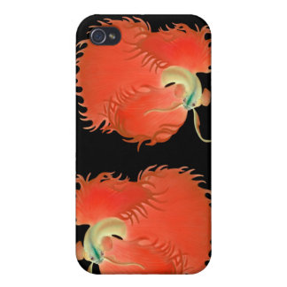 Betta Fighting Fish Customizable Speck Case iPhone 4 Covers