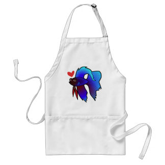 Betta Fish / Siamese Fighting Fish Love Standard Apron