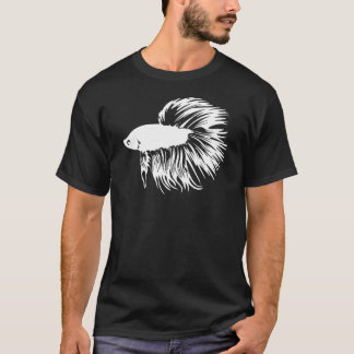 Betta Fish Silhouette T-Shirt