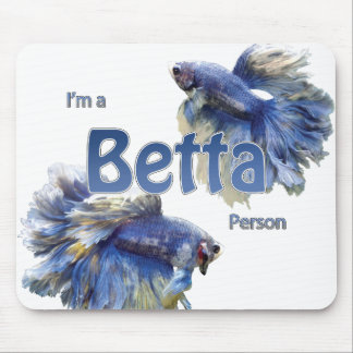 Betta Person Mouse Pad