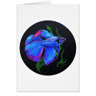 BETTA!!! Siamese Fighting Fish Card