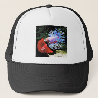 Betta splendens trucker hat