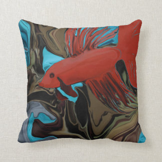 Betta's Band Throw Pillow