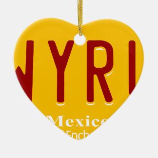 better-call-saul ceramic heart ornament