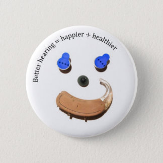better hearing smiley face button