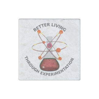 Better Living Through Experimentation Stone Magnets