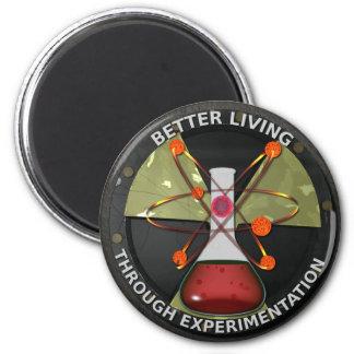 Better Living Through Experimentation Version 3 Refrigerator Magnets