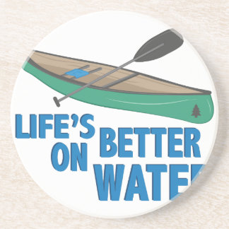 Better On Water Beverage Coasters
